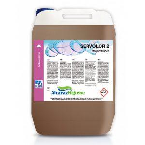 Ambientador Servolor 2 higienizador 5 litros