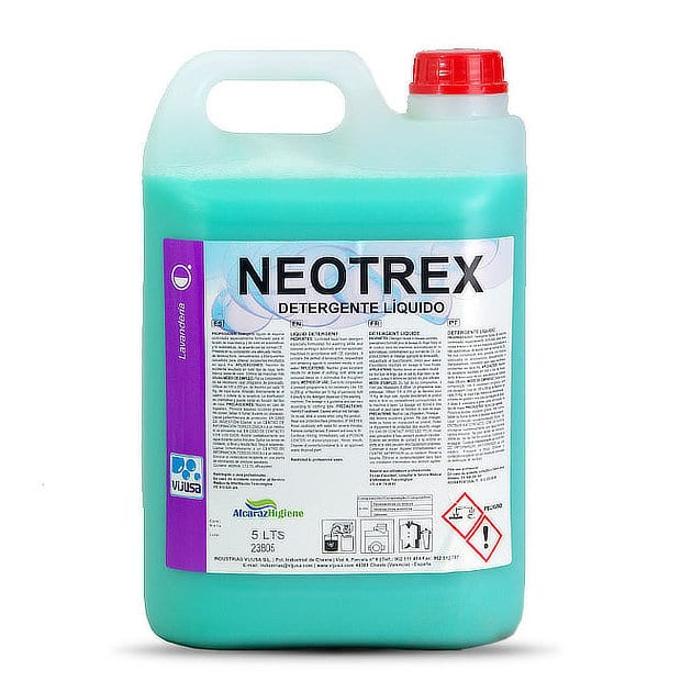 Detergente líquido para ropa Neotrex 5l