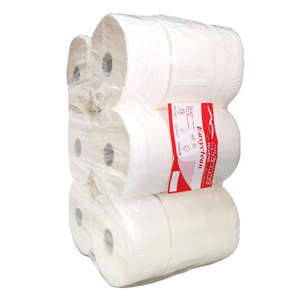 Papel higiénico industrial gofrado