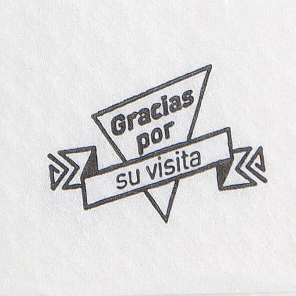 servilleta papel 17x17