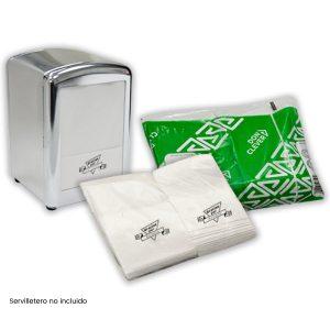 Servilletas de papel mini servis 17x17 (14000 uds.)