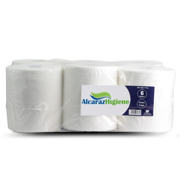 bobina de papel industrial autocorte