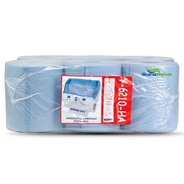 Bobina de papel autocorte secamanos pack 6 rollos