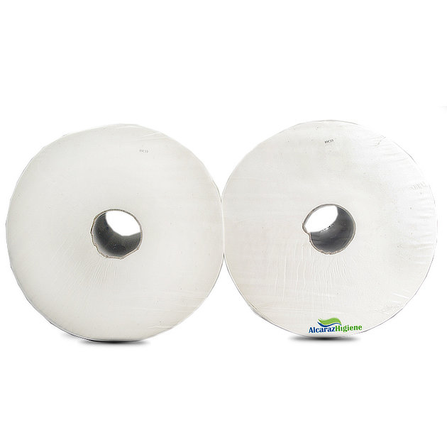 Bobina papel blanca Alcaraz Higiene