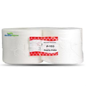 Bobinas de papel industrial de limpieza pack de 2 rollos