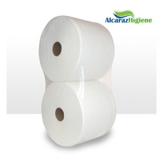 Bobinas de papel pasta blanco pack de 2 rollos