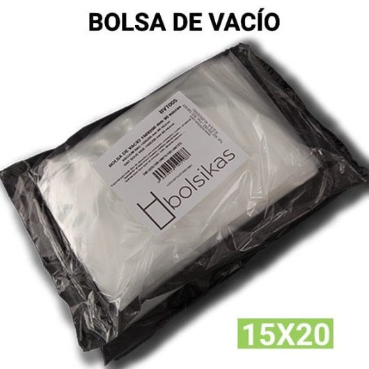Bolsa de vacio 15x20