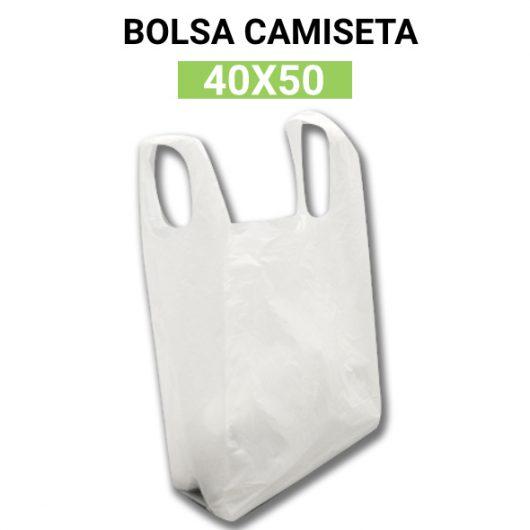 Bolsas de plastico camiseta 40x50 120 unidades