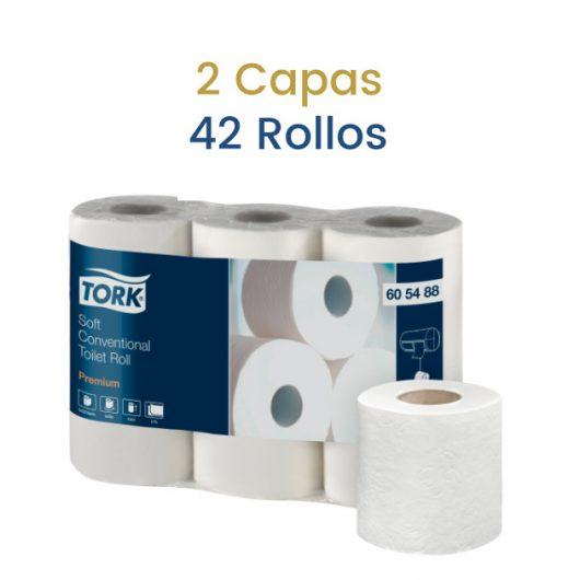 Papel higienico tork 2 capas ALcaraz Higiene