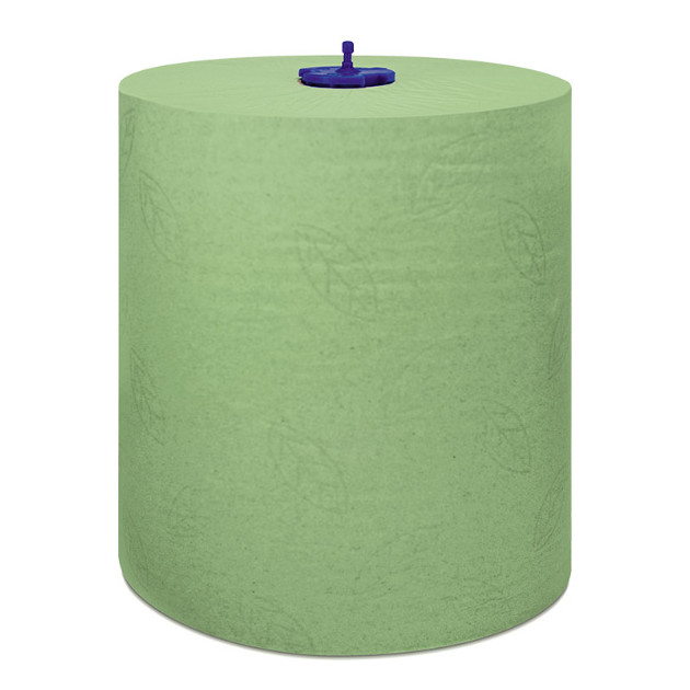 papel secamanos autocorte verde Tork 6 ud