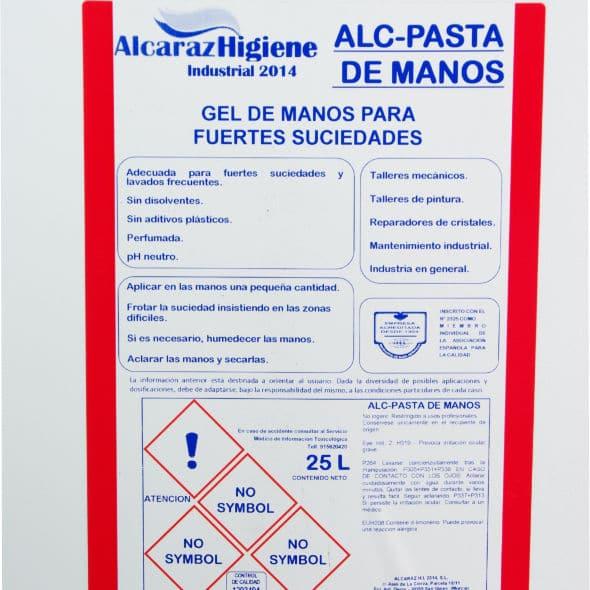 Pasta Alcaraz Etiqueta