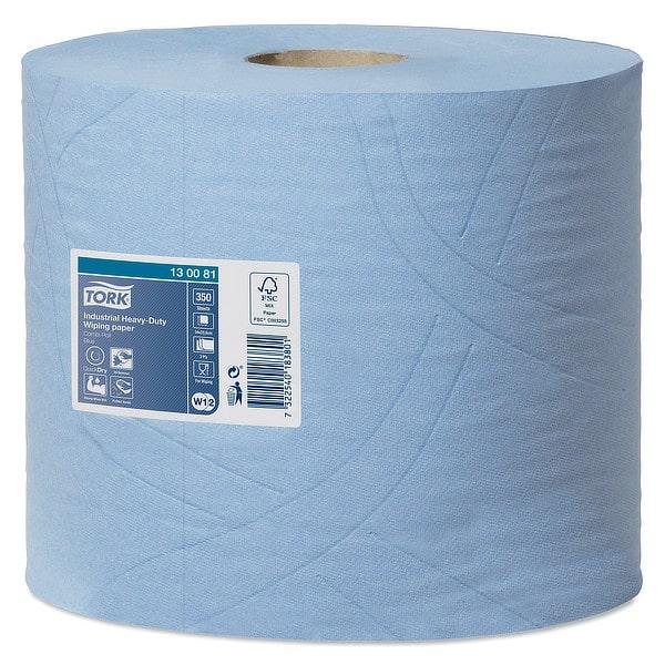 Bobina de papel industrial de limpieza Tork 3 capas 2