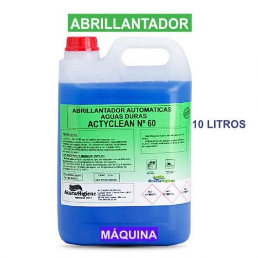 Abrillantador máquina Actyclean Nº 10 10 litros