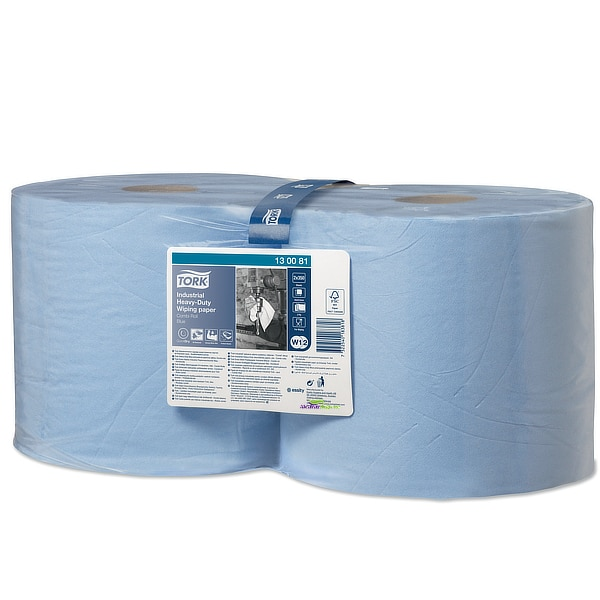 Bobina de papel industrial de limpieza Tork 3 capas