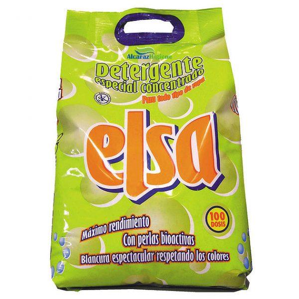 Detergente en polvo concentrado Elsa 10 KG