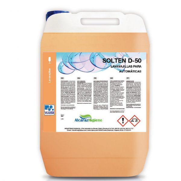 Detergente lavavajillas máquina industrial Solten 6 litros