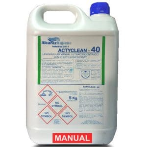Detergente lavavajillas manual Actyclean-40 5 litros
