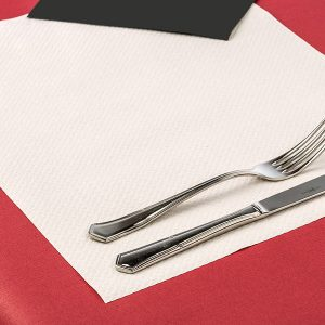 Mantel de papel individual blanco 35x50