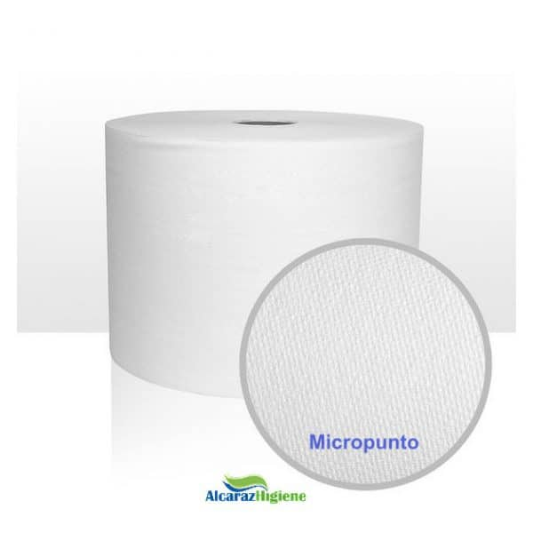 2 Bobinas de papel micropunto industrial Alcaraz higiene