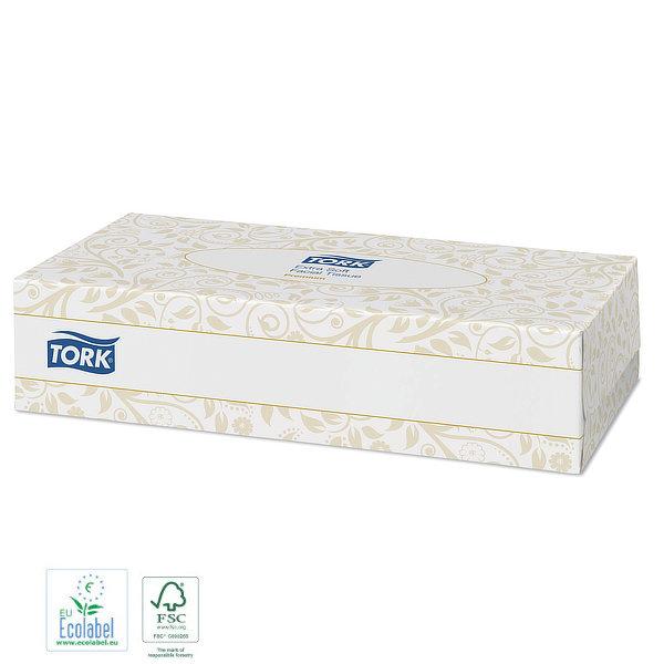 Pañuelos de papel desechables Tork Premium Caja pequeña