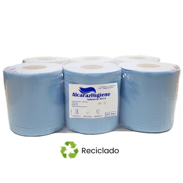 Papel mecha gofrado 100% reciclado