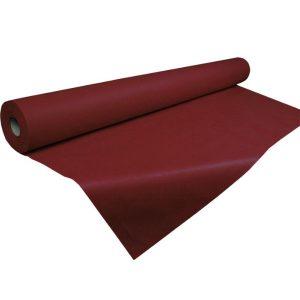 Rollo mantel tejido no tejido burdeos 1x50 sin precorte 50 gr