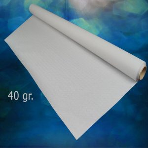 Rollos mantel de papel blanco 1x100 metros (caja de 6 rollos)