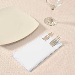 Servilletas papel Kanguro Tissue blancas 40x40