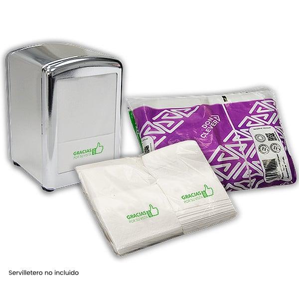 Servilletas de papel mini servis Tissue 17x17 (14000 uds.)
