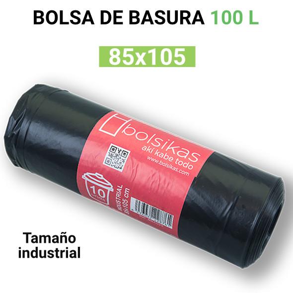 Bolsa de basura industrial 85x105 100 litros grande