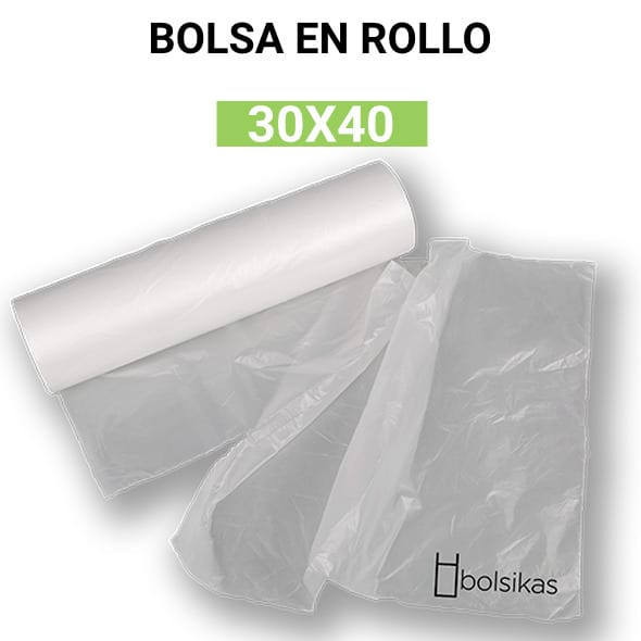 bolsa plastico transparente
