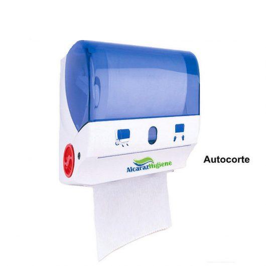Dispensador de papel toalla secamanos autocorte