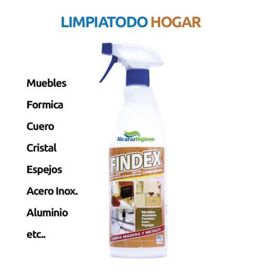 Limpiatodo Findex hogar 750 ml Alcaraz Higiene