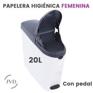 Contenedor higiénico JVD Ladybox 20 Litros