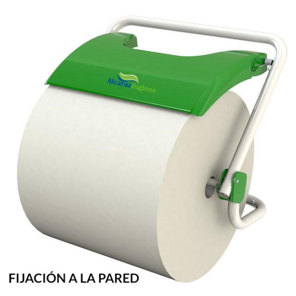 Portabobinas papel industrial mural JVD