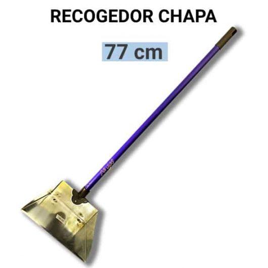 Recogedor con palo metalico