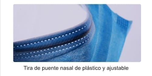 Mascarillas de protección higiénicas desechables