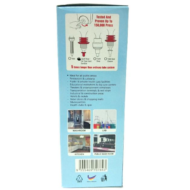 Dosificador de gel hidroalcoholico y jabón 800 ml caja 2