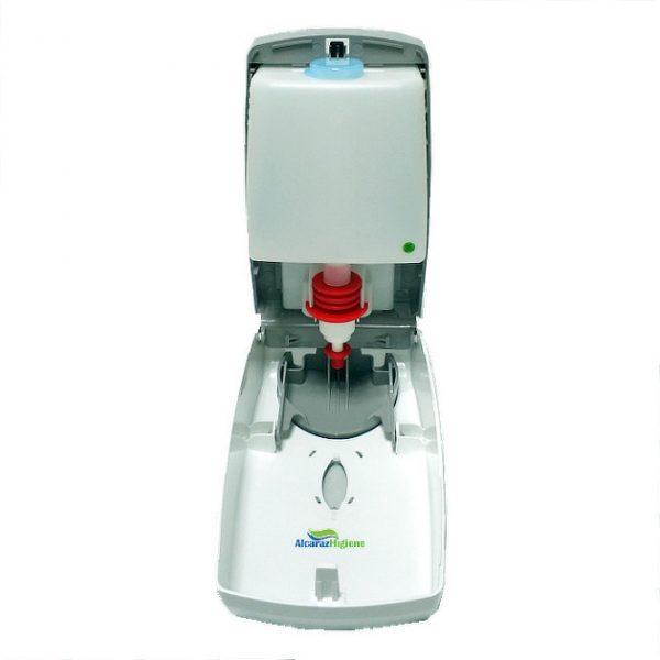 Dosificador de gel hidroalcoholico y jabón 800 ml interior