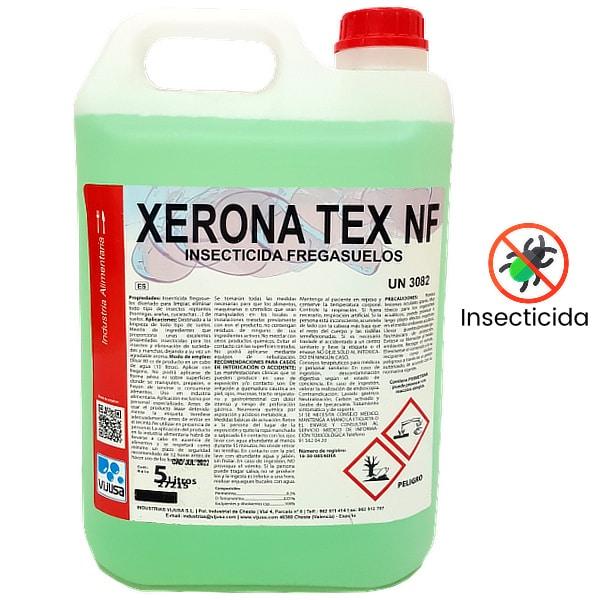 Fregasuelos insecticida Xerona Tex 5 litros