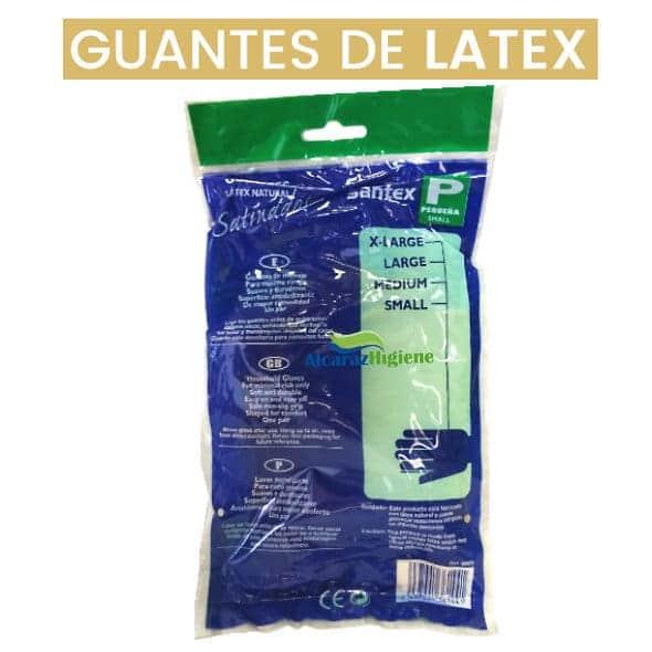 guantes de latex resistentes