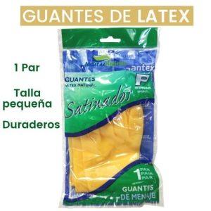 Guantes de latex satinados santex