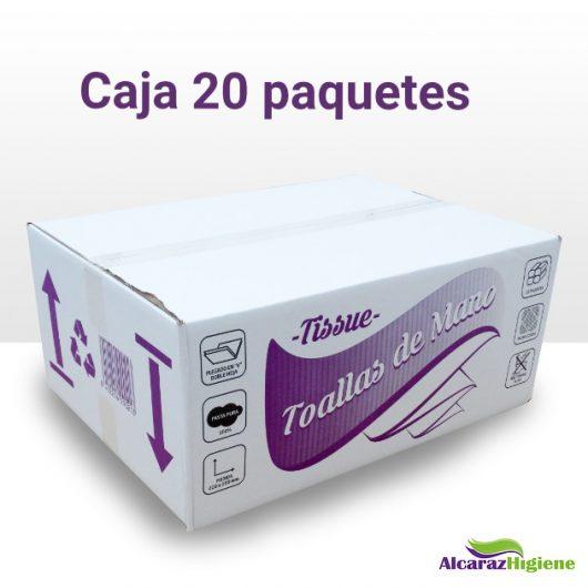 Toallas de papel secamanos Alcaraz Higiene