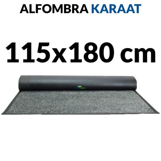 Alfombra de interior nylon y caucho Karaat 115x180 cm