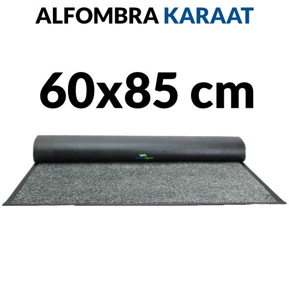 Alfombra de interior nylon y caucho Karaat 60x85 cm