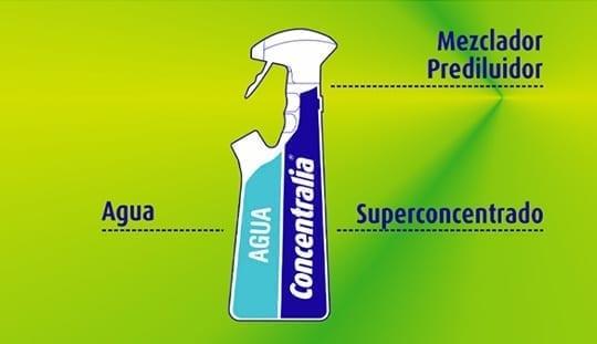 Limpiador bactericida