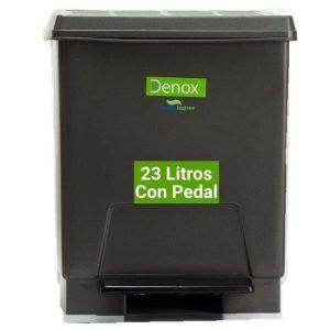 Cubo basura ecologico 23 litros gris