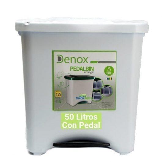 Cubo de basura 50 litros Blanco