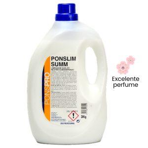 Fregasuelos perfumado concentrado Ponslim Summ 3 kg