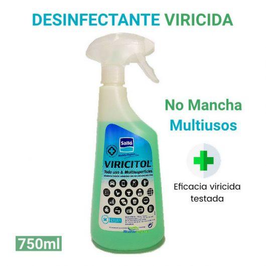 Desinfectante viricida sin aclarado Viricitol 750 ml